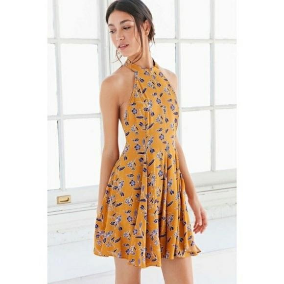 ed553eb0bf9 Kimchi Blue Dresses   Skirts - Kimchi Blue (Urban Outfitters) Yellow Summer  Dress